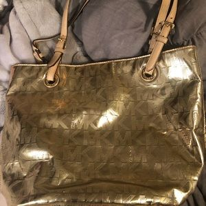 Authentic MK gold purse